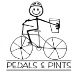 Pedals and Pints logo