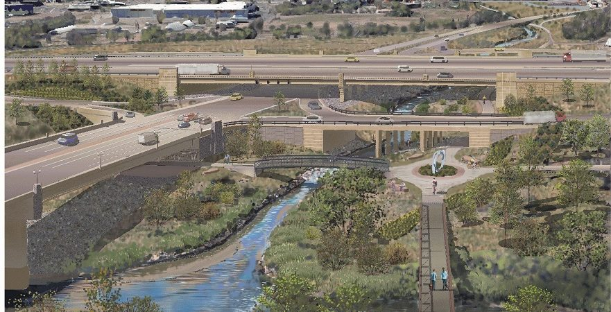I-25 Interchange: Midland And Pikes Peak Greenway Trails Scheduled To Re-open Late Summer