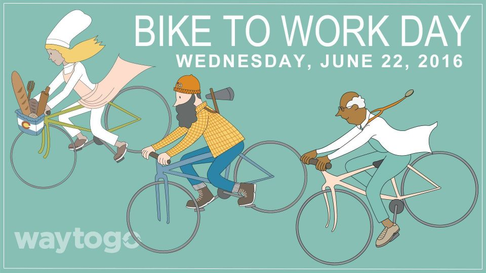 Bike To Work Day 2016