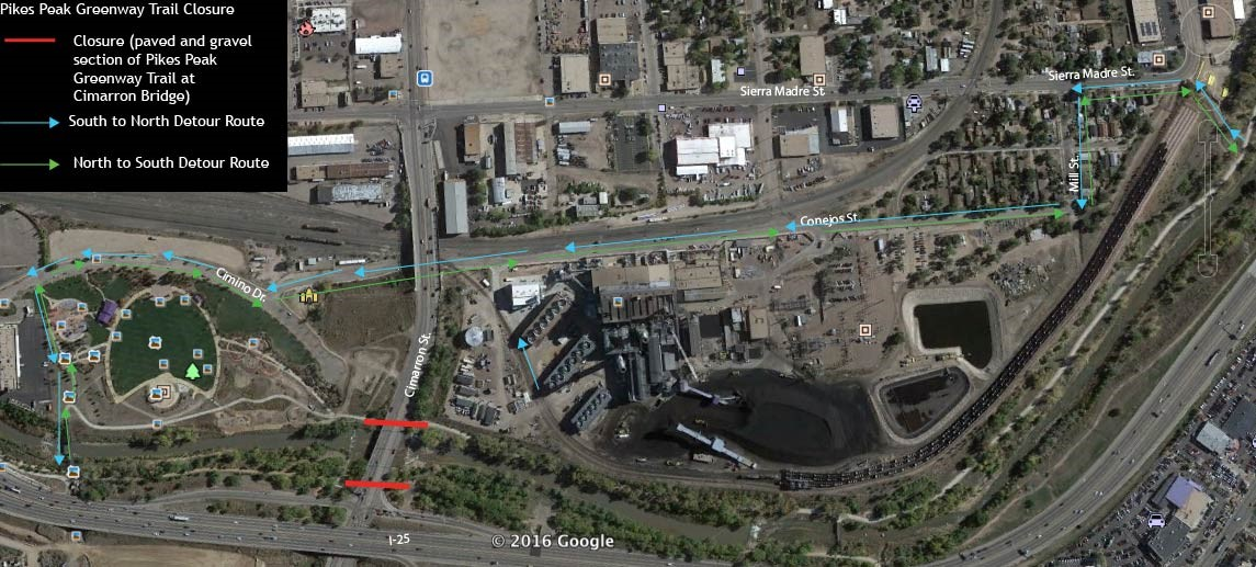 I25 Trail Closure