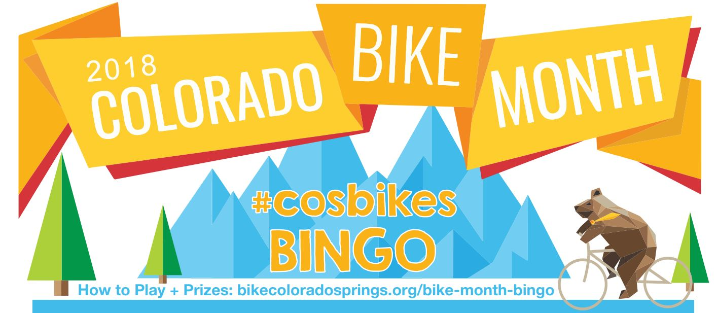 Bike Month Bingo