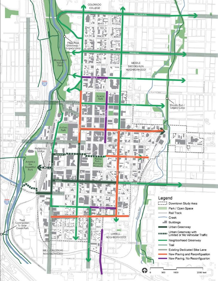 Downtown road projects plan to include bike-friendly infrastructure ...