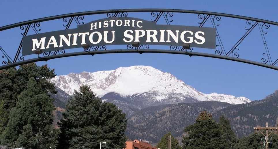 Manitou Springs Sign