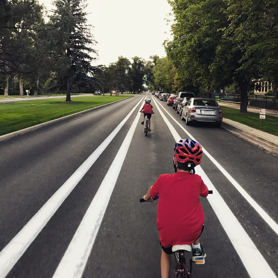 Cascade Bike Lane