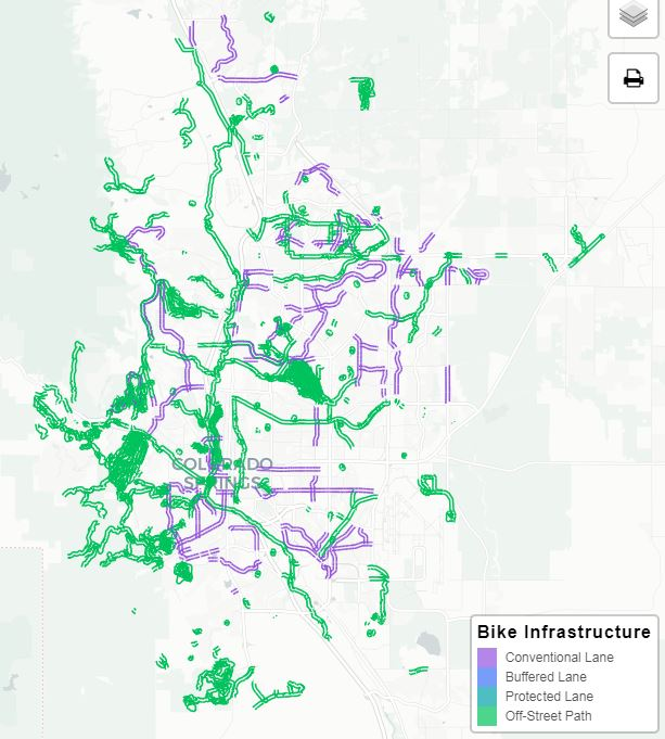 Bike Infrastructure Network P4B
