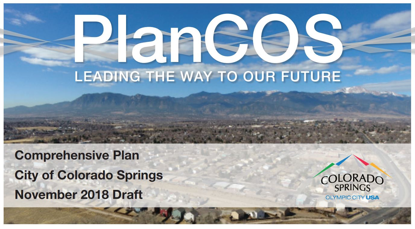 Bike Colorado Springs Supports PlanCOS