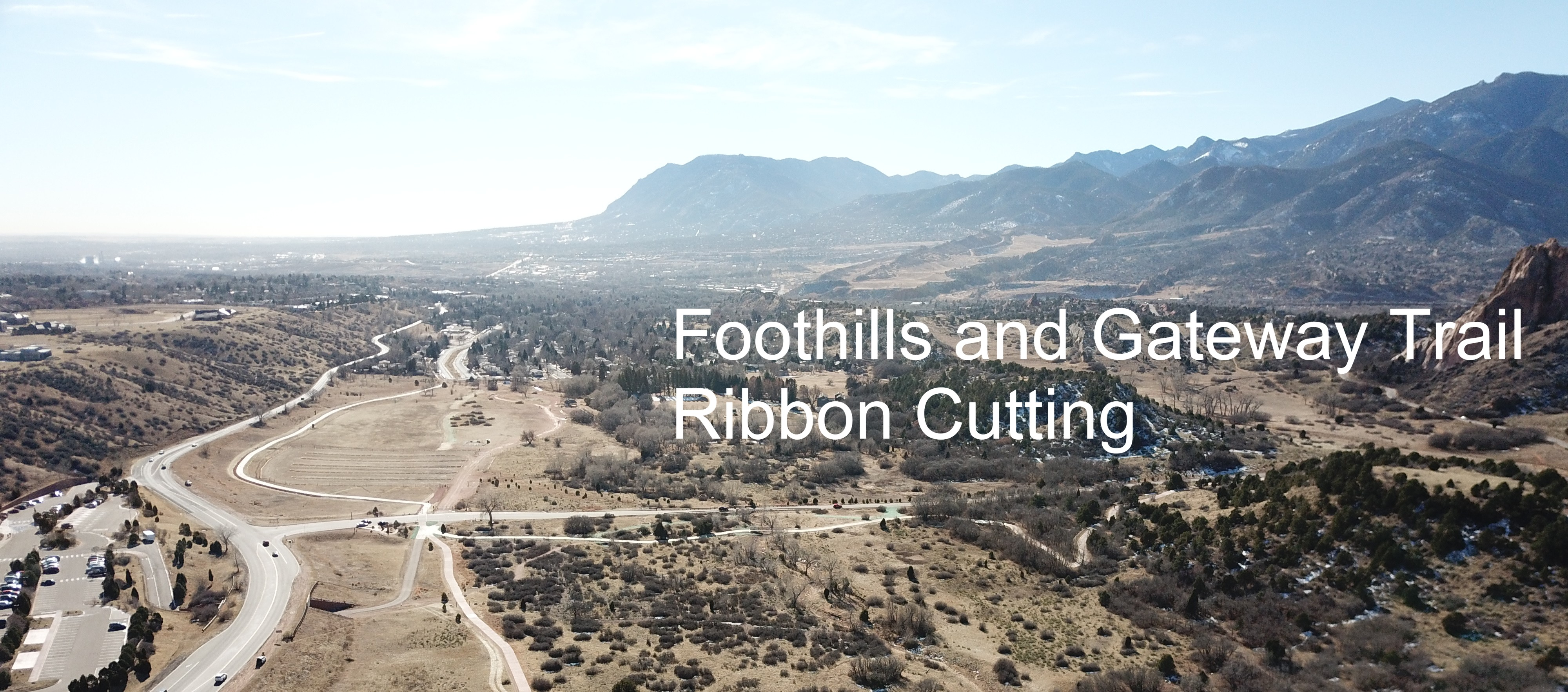 Foothills And Gateway Trails Ribbon Cutting