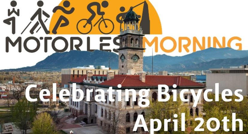 Celebrating Bicycles In Colorado Springs