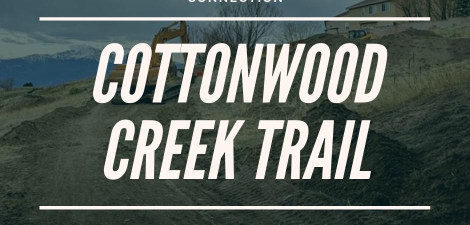 Cottonwood Creektrail Expands Eastward