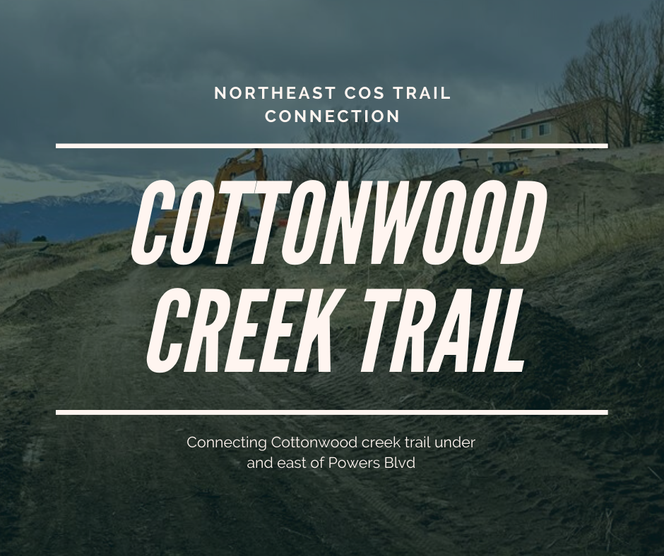 Cottonwood Creektrail Expands Eastward