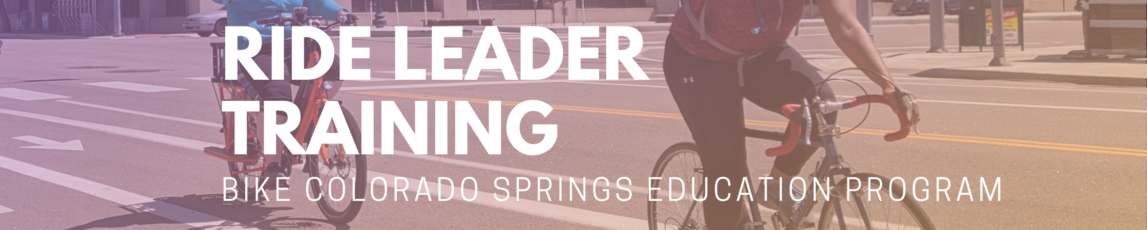 First Bike COS Ride Leader Training June 2020
