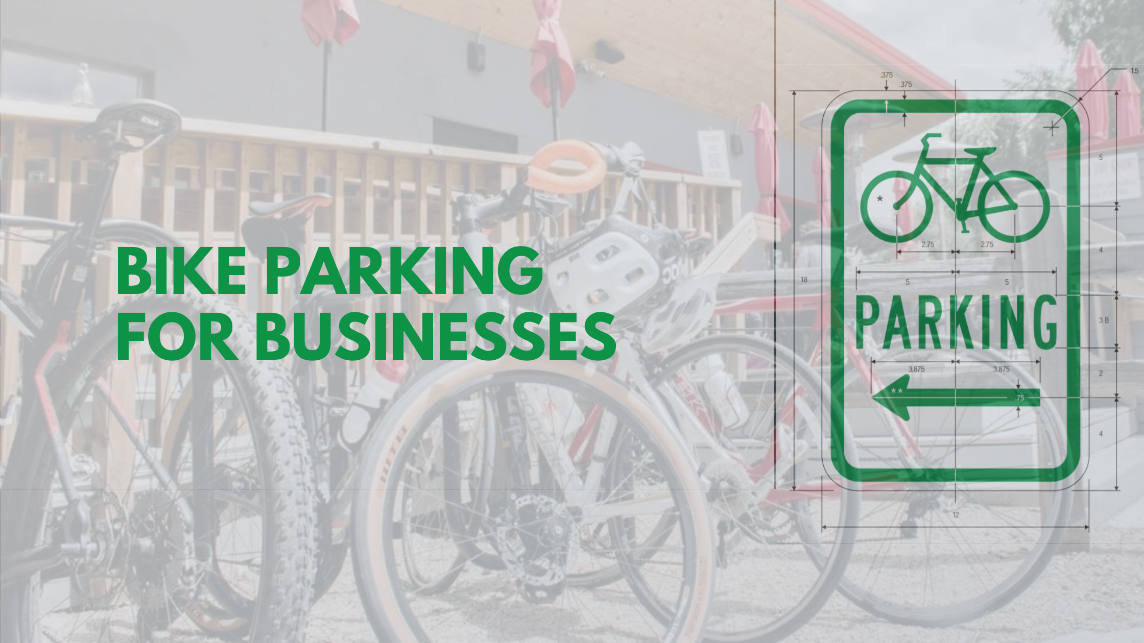 Bike Parking For Businesses