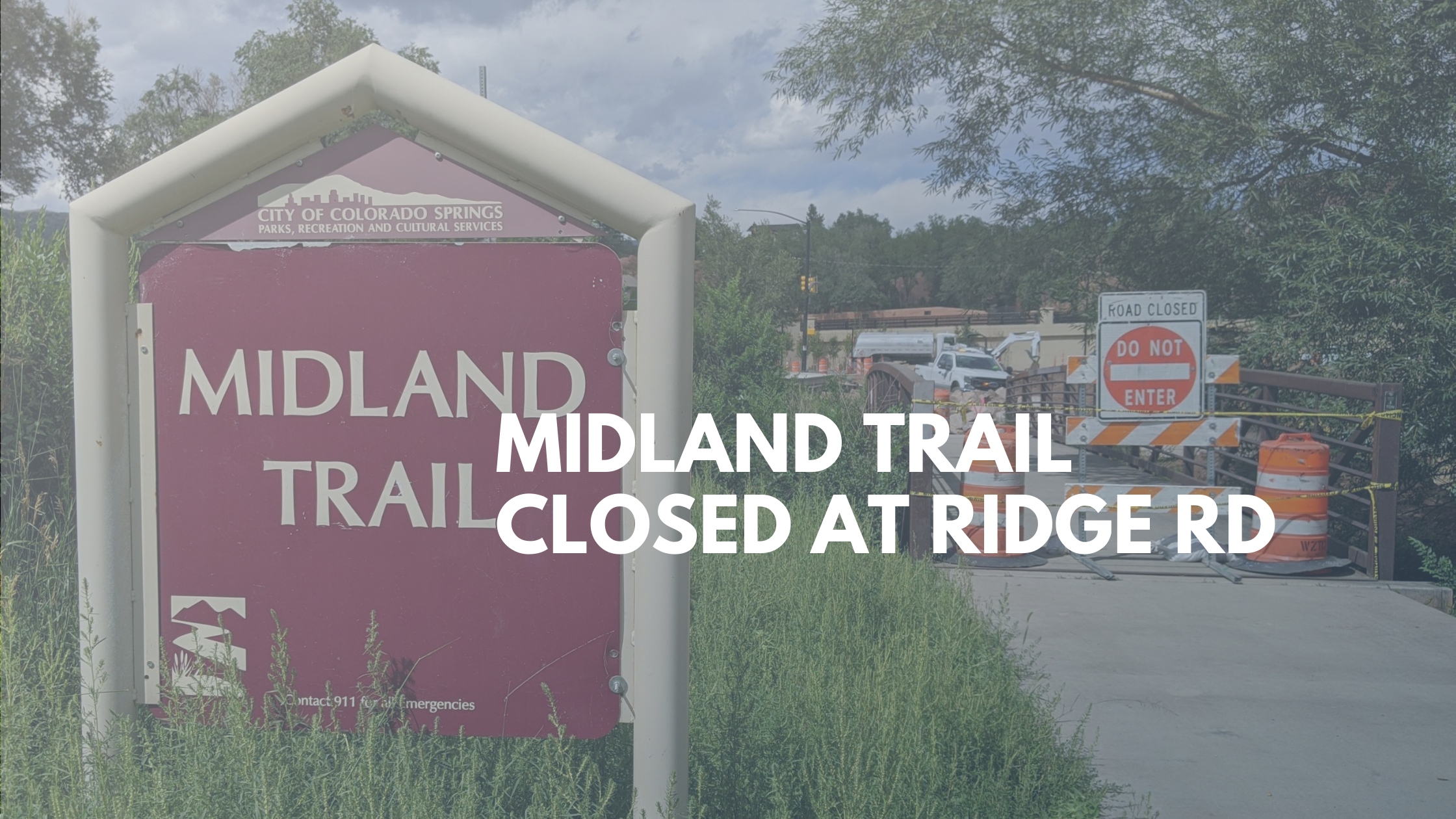Midland Trail Closed