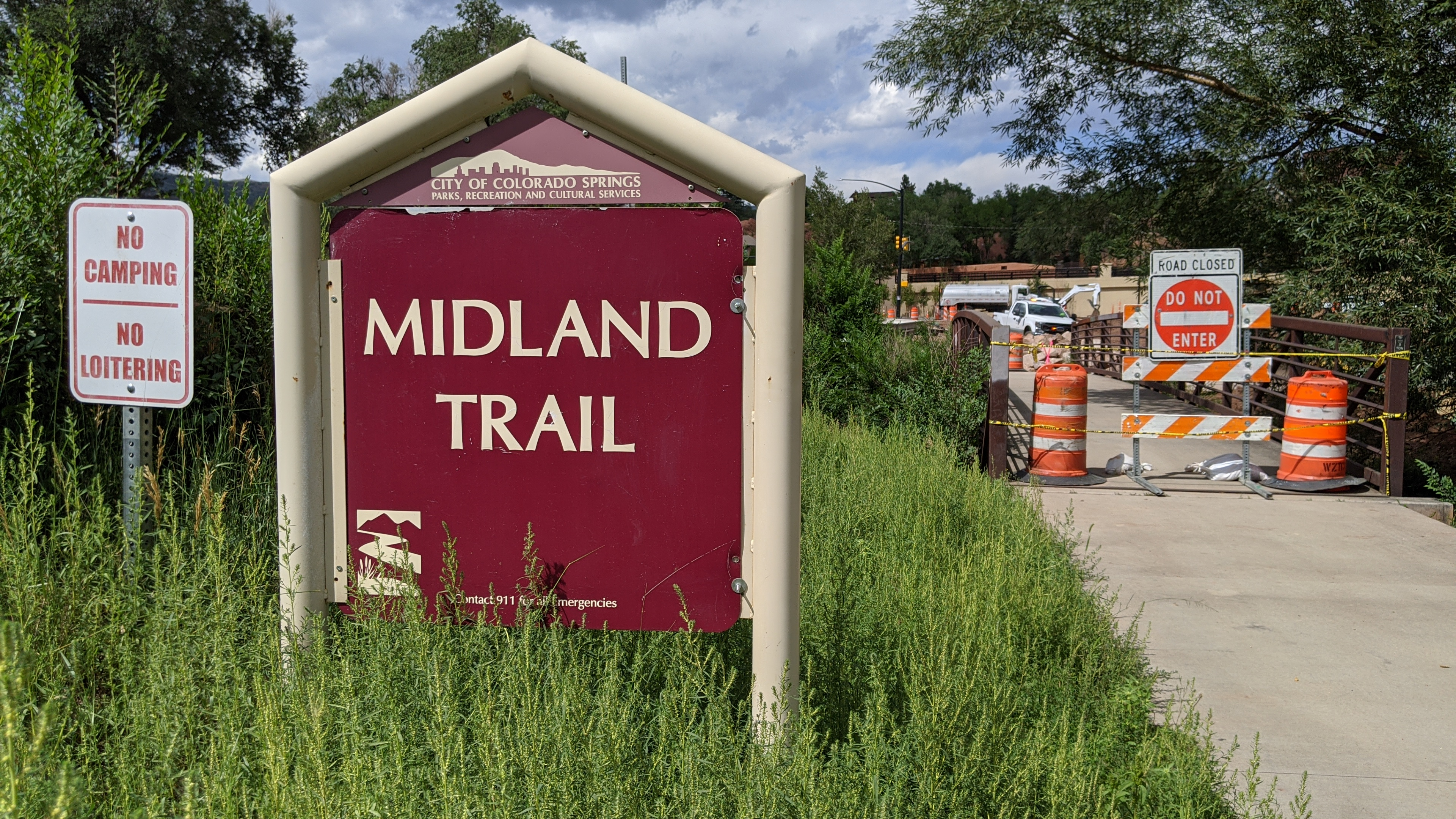 Midland Trail Closure