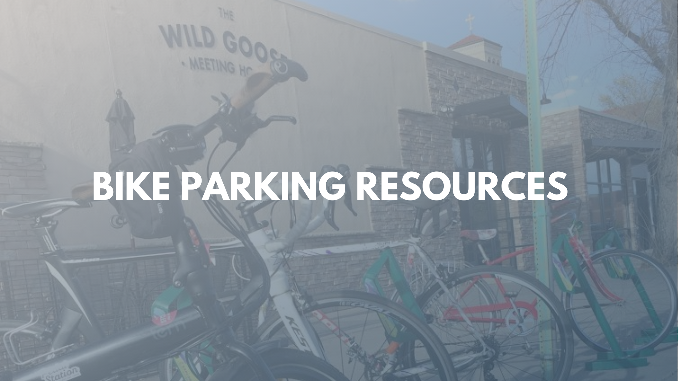 Bike Parking Resources