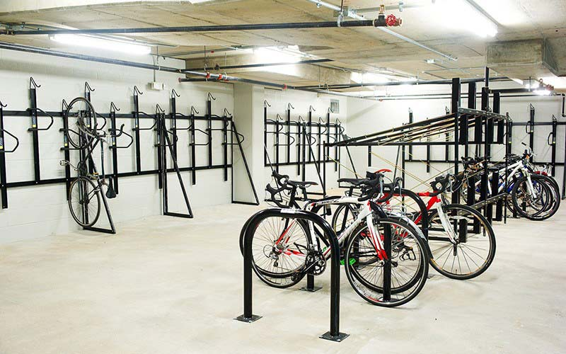 Bike Room W/rack Combination