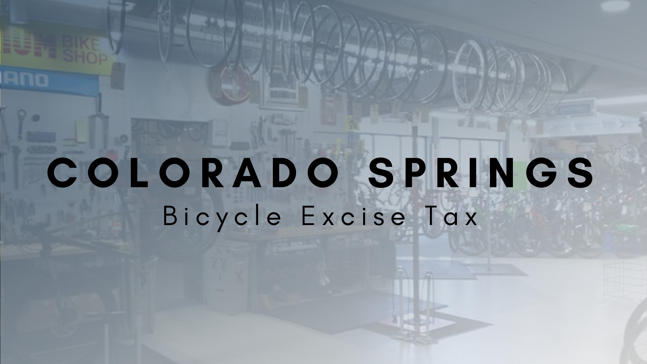 Bicycle Excise Tax – Header