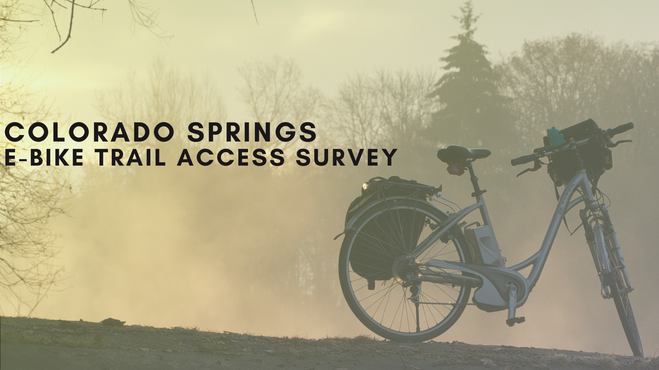Colorado Springs Parks EBike Survey