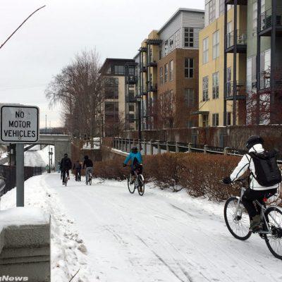 Minneapolis Winter Bike