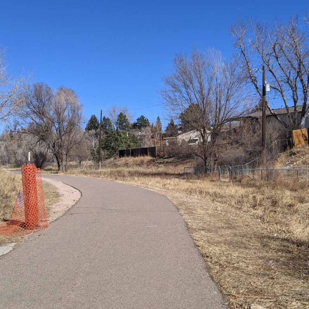 Trail Fence Moved