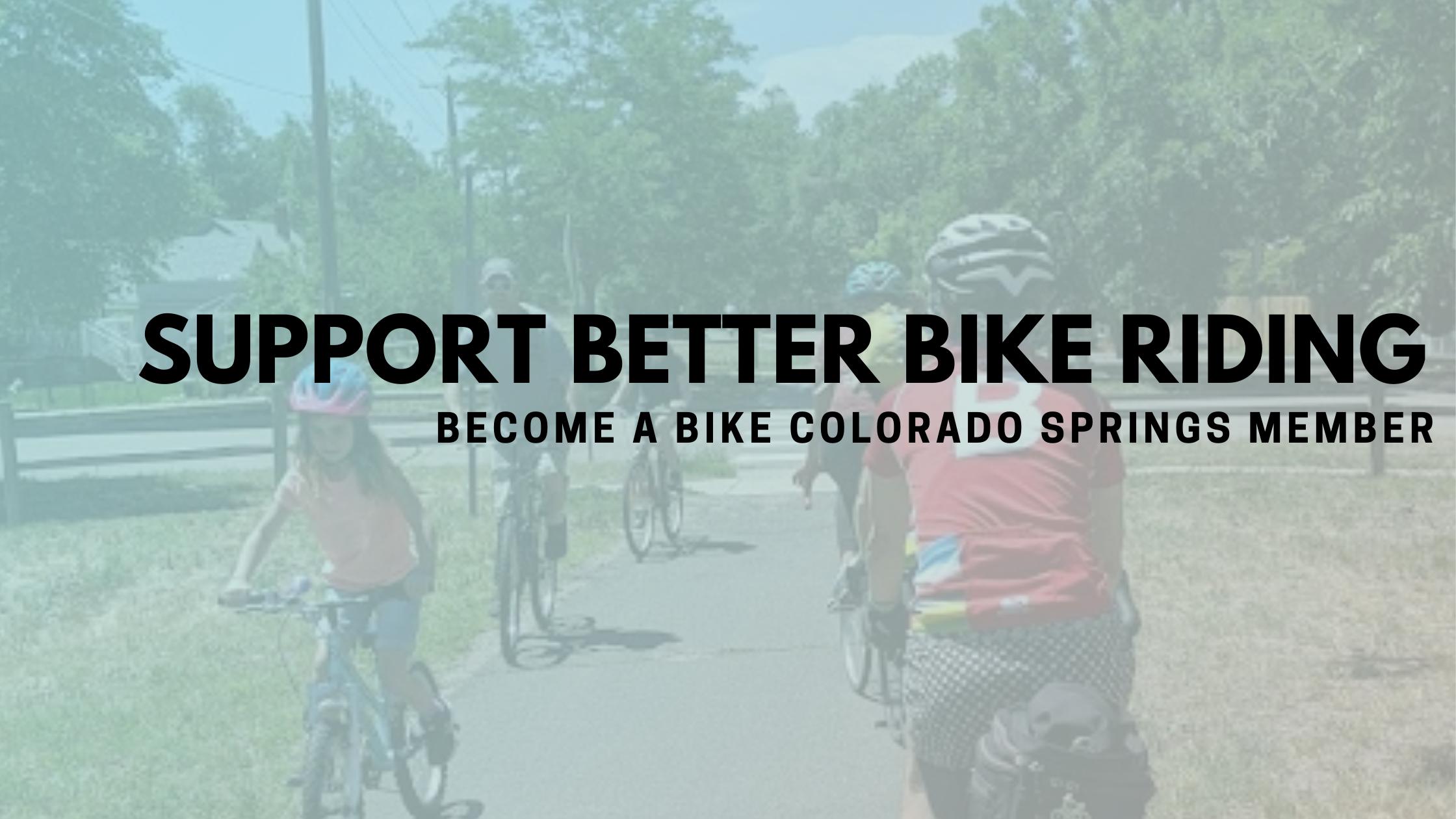 Support Better Bike Riding